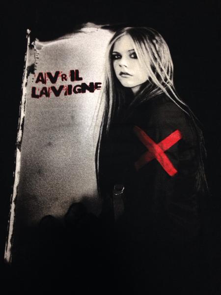 アヴリルラヴィーン2005JAPANツアー新品TシャツM