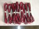 ◎得1000でGO!被覆電線赤黒約1m10setスピーカケーブル 電子工作