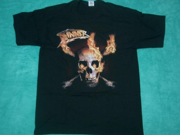 SINNER シナー Tシャツ M バンドT ロックT Helloween Gamma Ray