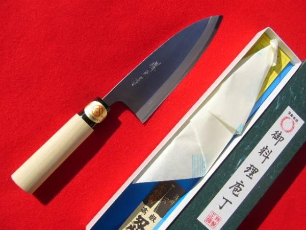 ★送料無料★堺打刃物 堺正孝 はがね鍛造 出刃包丁 180mm 6寸_はがね鍛造出刃 6寸 よく切れます