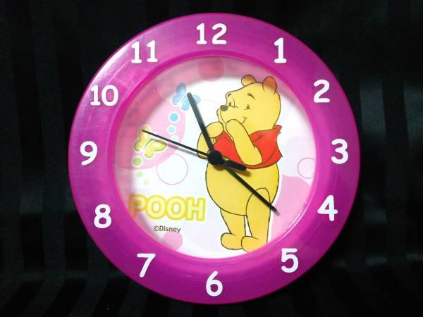 ディズニー くまのプーさん 掛時計 置時計 2way 約175x175mm ディズニーグッズの画像
