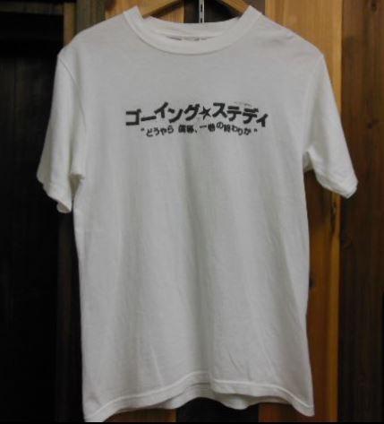 GOING STEADY Tシャツ 銀杏BOYZ ANDYMORI くるり 峯田和伸