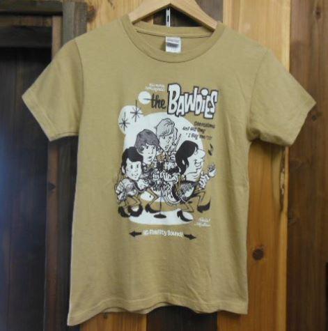 BAWDIES Tシャツ ASIAN KUNG-FU GENERATION STRAIGHTENER