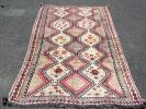 ◆1日限定◆残暑セール◆送料無料◆ペルシャ絨毯 ギャッベ i211 アンティーク家具 骨董 ラグ カーペット イラン産 マット 編み物 手作り
