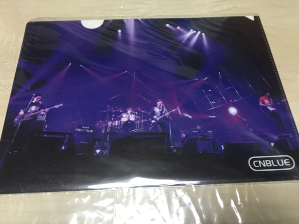CNBLUE Place of BlueぴあBOOK SHOP購入特典クリアファイル新品