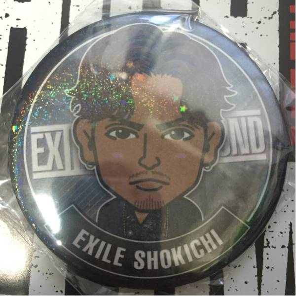 HiGH&LOW THE LIVE EXILE THE SECOND SHOKICHI モバイルデカ缶バッジ