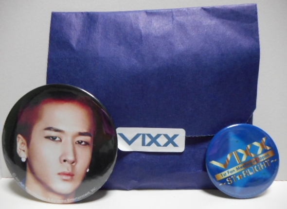 VIXX 1st ファンミ ST★RLIGHT 公式グッズ 缶マグネット ラヴィ