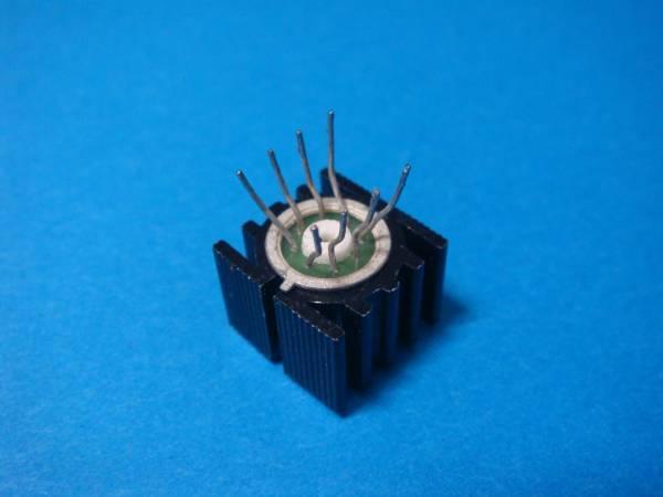 【A】Vintage メタル缶 2回路オペアンプ LF353H 中古品 放熱器付