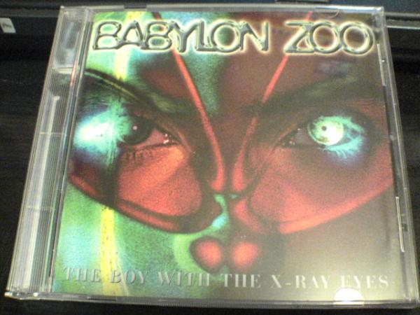 バビロン・ズーCD「THE BOY WITH THE X-RAY EYES」BABYLON ZOO●_画像1