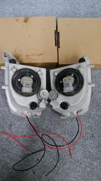 レクサス IS 純正フォグライト LEDリング加工品_画像3