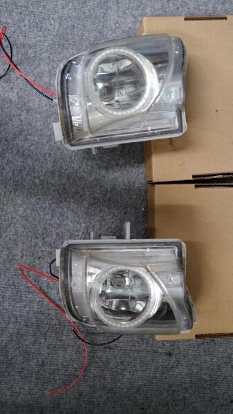 レクサス IS 純正フォグライト LEDリング加工品_画像2