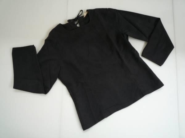 【お買い得!】 ★ Jean Nassaus Co, ★ デザインカットソー 黒 長袖 1
