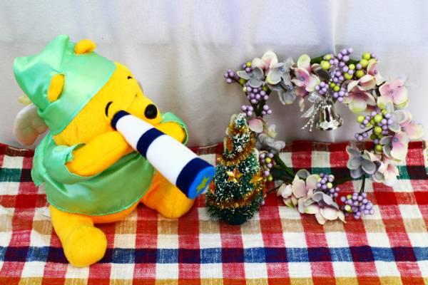ディズニー★くまのプーさん★天使★ぬいぐるみ★非売品【0360】 ディズニーグッズの画像