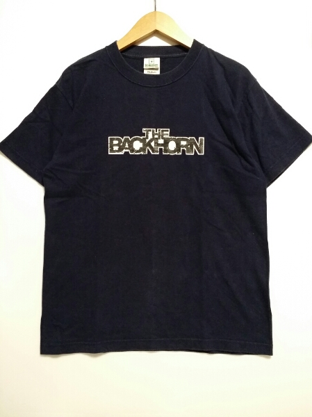 【THE BACK HORN】バックホーン/Tシャツ/紺/M/即決/送料無料