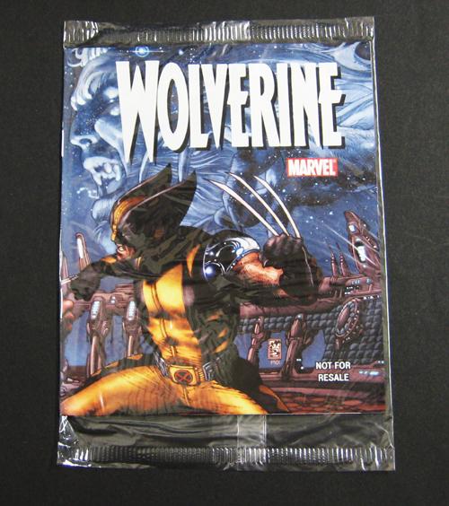 ●ウルヴァリン X-MEN DVD購入特典小冊子 MARVEL 非売品●未使用