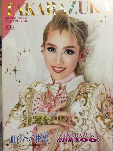 送料無料☆宝塚月組パンフレット2014☆宝塚をどり☆龍真咲☆