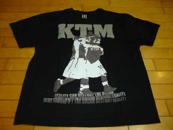 即決●ケツメイシ KTM×QUENCH コラボT シャツ 黒 S