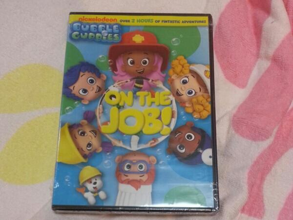 おうちで英語 日本未発売 バブルグッピーズ Bubble Guppies ON THE JOB! DVD Import 未開封 輸入盤 英語育児 アニメ DWE 北米 育脳