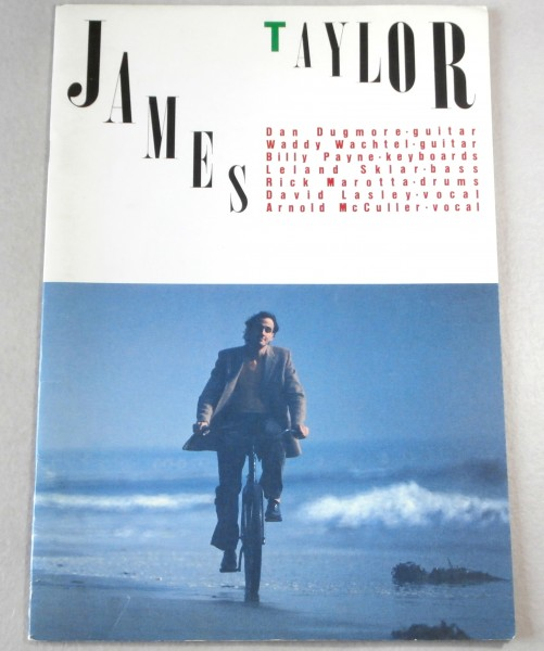 ◎パンフレット ◆ 1981年 来日公演 ◆ JAMES TAYLOR