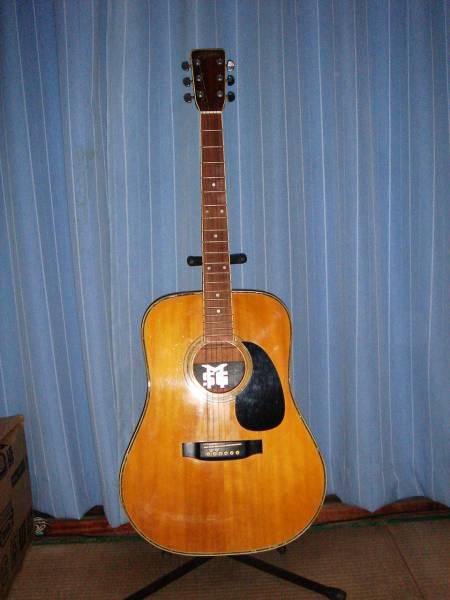 アリア 1970年代アコースティックギター W20D 貝装飾あり
