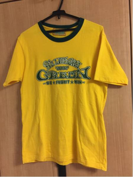 B'z GREEN GO FIGHT WIN Tシャツ
