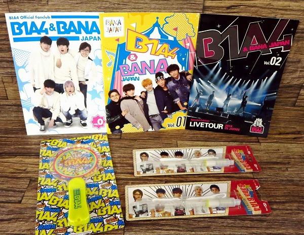 ◆B1A4ファンクラブ会報&公式ペンライト1ST CONCERT BABA◆z8173