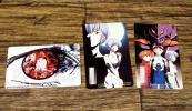 ◆新世紀エヴァンゲリオン ミュージックギフトカード 3点◆z7966