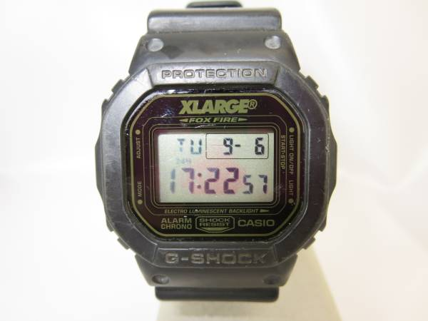Price Cut Casio G Shock Dw 5600 X Large Collaboration Used Real