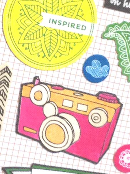 ■オシャレ ファブリック製 ステッカー スケッチブック アルバム スクラップブッキング カード ラッピング DIY ラッピング_画像1