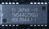 TI TMS44C256DJ-10 1メガ DRAM(256kword×4bit) SOJ 新品 2個