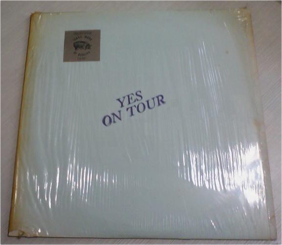 TMOQ イエス YES / On Tour 赤盤 スタンプカバー スリック保持 完全品!!_画像1