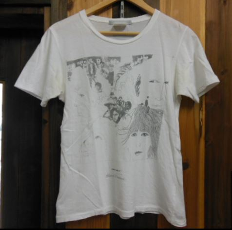 BEATLES x museum neu X REVOLVER Tシャツ KLAUS VOORMANN