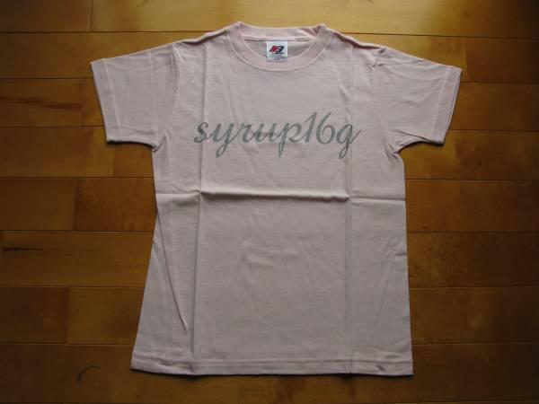 新品 syrup16g ムカデTシャツ ピンク youth-L