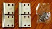 ルーム丁番(旗蝶番) S-45R071 左右兼用 SUS304製 2枚セット