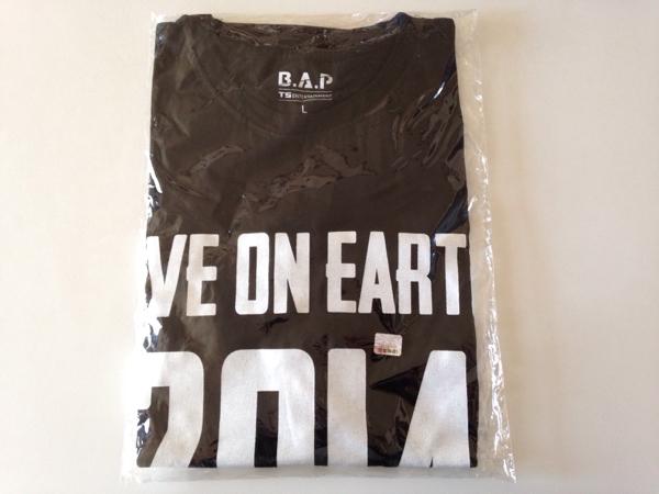 ★B.A.P★『LIVE ON EARTH 2014』Tシャツ(L) 新品未使用