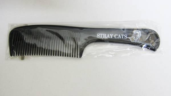 貴重★ ストレイ・キャッツ 特典くし Stray Cats 非売品●未使用