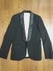 限定値下げ 激レア 極美品 D/him DOUBLE STANDARD CLOTHING ショールカラー スモーキング ジャケット ブラック 46