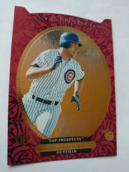 ★BROOKS KIESCHNICK マイナーリーグ UD SP RC ROOKIE MLB 1995 UPPER DECK ブルックス・キーシュニック CHICAGO CUBS シカゴ・カブス_画像1