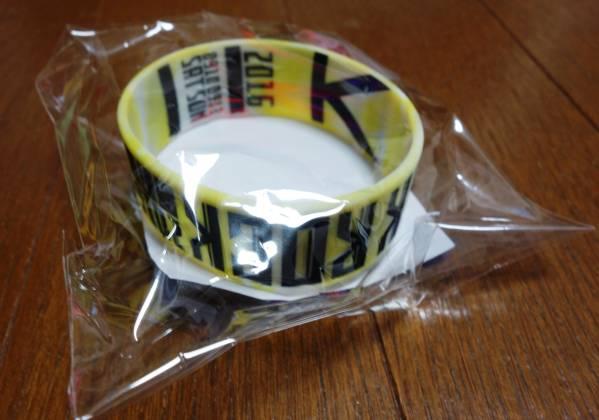 ONE OK ROCK 2016 渚園 グッズ ラバーバンド 黄 ワンオクロック