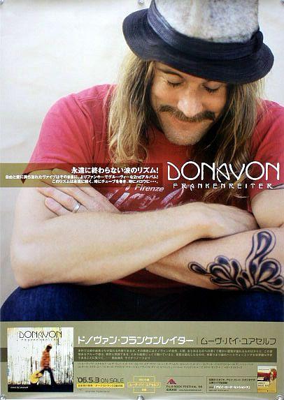 ドノヴァン・フランケンレイター B2ポスター (1D02012)