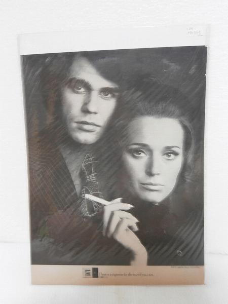 1970年アメリカの雑誌広告【L&M】たばこ LIFE誌