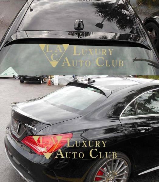 2014-2017 ベンツ CLA C117 W117 ルーフスポイラー エアロ ウイング 純正カラ-各色 塗装可 トランクスポイラ- 外装カスタム 米国製_画像3