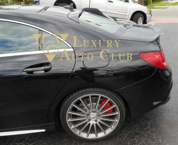 2014-2017 ベンツ CLA C117 W117 ルーフスポイラー エアロ ウイング 純正カラ-各色 塗装可 トランクスポイラ- 外装カスタム 米国製_画像1