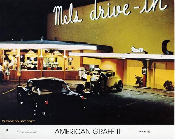 1973年 アメリカン・グラフィティ American Graffiti 二枚 写真