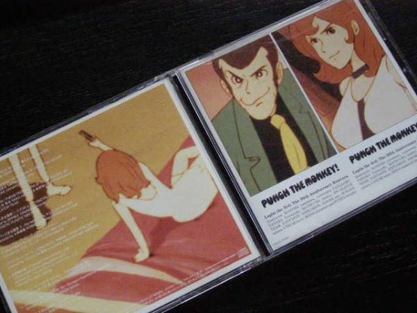 PUNCK THE MONKEY/ルパン3世/The 30th Anniversary Remixes/COCA-15143/管理No.1708904_画像1
