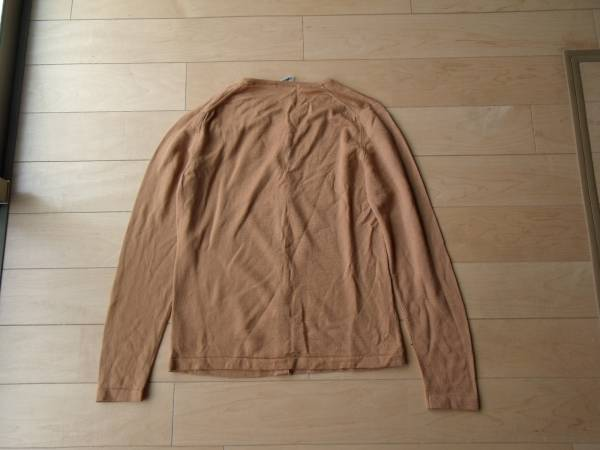 MADE IN ENGLAND PETER GEESON brown 未使用 カーディガン_画像3