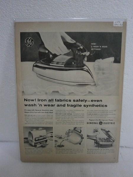 1960年アメリカの雑誌広告【GENERAL ELECTRIC】LIFE誌