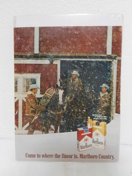 1970年アメリカの雑誌広告【Marlboro/マルボロ】たばこLIFE誌 インテリア