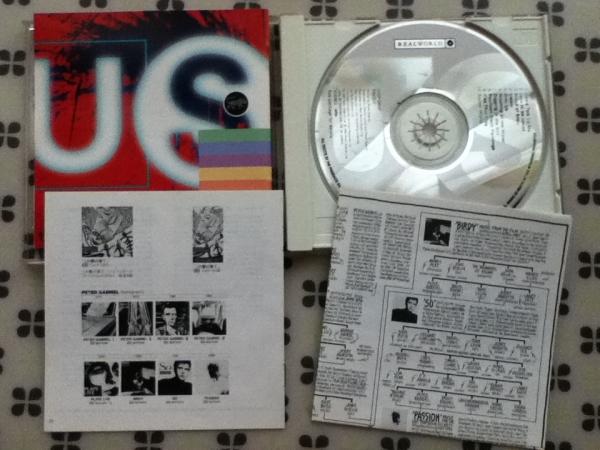 CD PETER GABRIEL「US」ピーターガブリエル 国内盤解説対訳_画像2