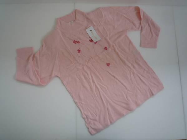 【未使用!】 ◆ FIVE JAPAN ◆ ニット フリー ピンク 刺繍_画像1